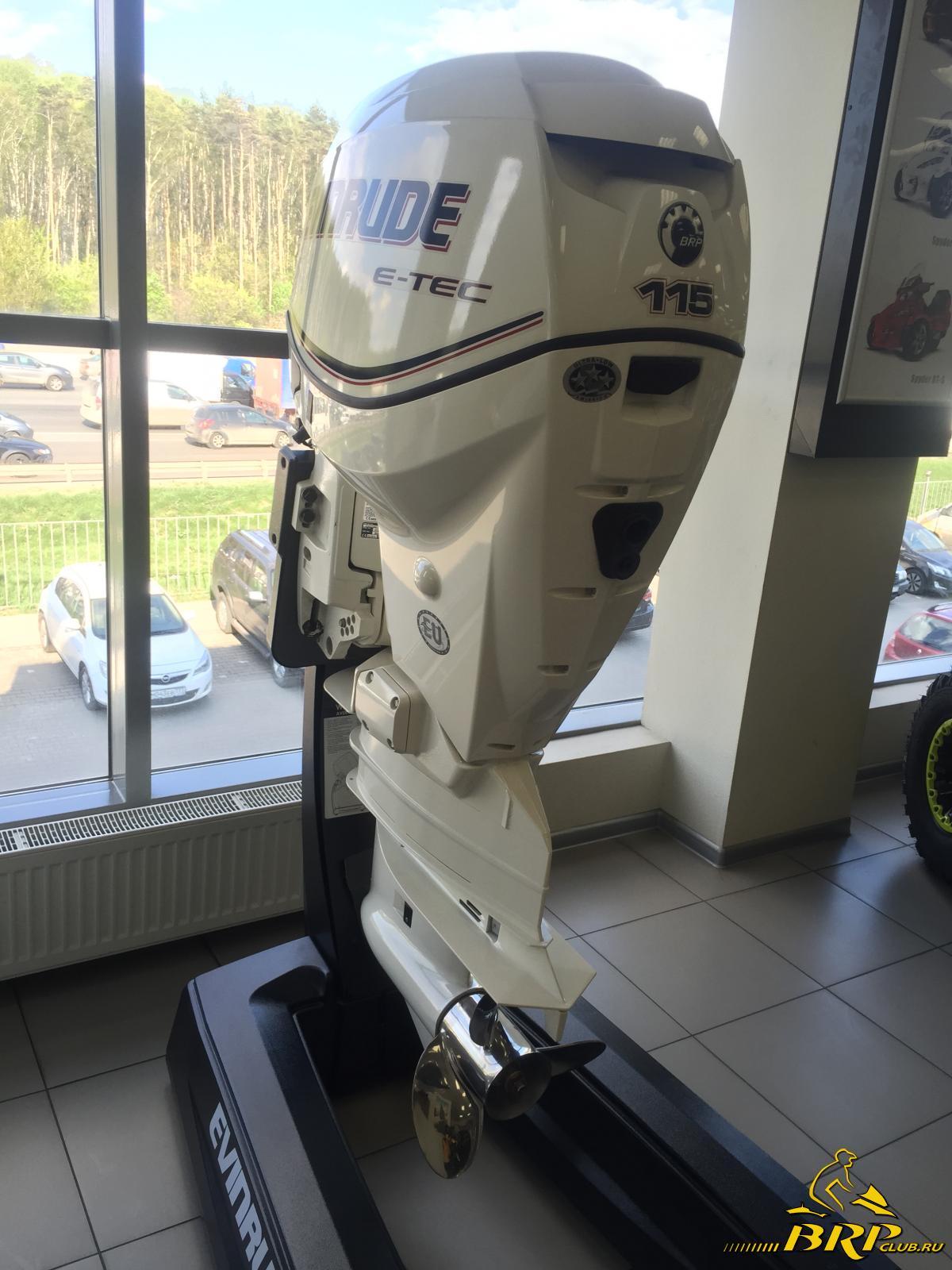 лодочные моторы evinrude 115